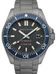Spinnaker Tesei Titanium Automatic 200 Meter Dive Watch With Dark Grey Dial SP-5084-44
