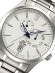 Orient Cosmos Automatic Watch with 24-hr Sub-dial and Day-Date #ET0K002W