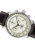 Graf Zeppelin Swiss Quartz Chronograph Watch with Alarm Function #8680-3