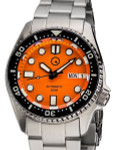 Islander 38mm Automatic Dive Watch with Solid-Link Bracelet, AR Sapphire Crystal, and Luminous Ceramic Bezel Insert #ISL-22