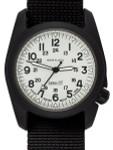 Bertucci A-2CT Cera-Ti™ Ceramic Coated Titanium Field Watch with Swiss Quartz Movement #12134