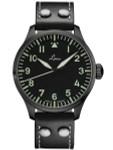 Laco Altenburg Type A Dial Miyota Automatic Watch, Black Ion Case #861759