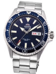 Orient Kamasu Blue Dial Automatic Dive Watch with Sapphire Crystal #RA-AA0002L19A