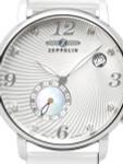 Graf Zeppelin Luna Swiss Quartz Watch with Swarovski Crystals and MOP Insert #7631-1
