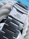 Orient XL 21-Jewel Automatic Dive Watch with Orange Bezel #CEM75004B