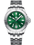 PHOIBOS Green Voyager 2.0 Automatic Dive Watch with Double Dome AR Sapphire Crystal #PY026A