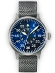 Laco Paderborn Blaue Stunde Swiss Automatic Pilot Watch with Sapphire Crystal #862082
