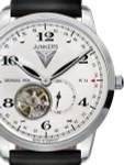 Junkers Dessau 1926 Flatline Automatic, Open-Heart Dress Watch #6360-4