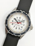 Marathon (Medium) Swiss Made, Arctic TSAR Quartz Military Divers Watch with Sapphire Crystal #WW194027-WD