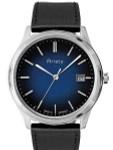 Aristo Blue Dial Dress Watch with Swiss Ronda Quartz Movement #4H196