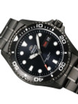 Orient Ray Raven II Black PVD Automatic Dive Watch with Bracelet #AA02003B