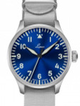 Laco 42mm Augsburg Blaue Stunde Automatic Pilot Watch with Sapphire Crystal #862100
