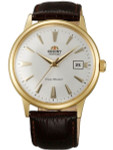 Orient 2nd Generation Automatic Watch with Goldtone Case and Hour Markers #AC00003W