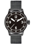 Laco Bell X1 Type A Dial Automatic Pilot Watch with PVD Case and Sapphire Crystal #861907