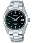 Seiko Black Dial Automatic Dress Watch with 38mm Case, and Sapphire Crystal  #SARB033