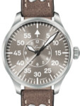 Laco 39mm Aachen Taupe Automatic Pilot Watch with Sapphire Crystal #862126