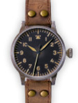 Laco Original Munster Erbstuck Swiss Automatic Pilot Watch with Sapphire Crystal #861931