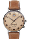 Iron Annie Amazonas Impression Big Date, Dual Time Watch with Two Crowns #5940-3