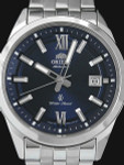 Orient 41mm Sentry Automatic Watch with Sunburst Blue Dial and Sapphire Crystal #ER2G002D