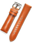 Horween Tan Calfskin Leather with Stainless Steel Buckle #INS-HOR-ESX03
