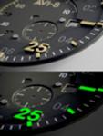 AVI-8 Spitfire Type 300 Edition, 21-Jewel Automatic Pilot Watch, AR Sapphire Crystal#AV-4073-44