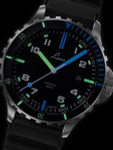Laco Squad Atlantik 300 Meter Dive Watch with a Double-Domed AR Sapphire Crystal #862108