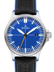 Damasko Swiss DS30 Blue Dial Automatic Watch with a 39mm Bead-Blasted Submarine Steel Case #DS30