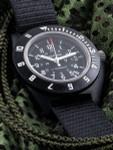Marathon Swiss Made Quartz Military Navigator Pilot Watch with Tritium Illumination #WW194013