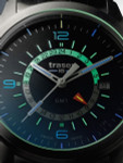 Traser P59 Aurora GMT, Dual-Time Watch with an Anti-Reflective Sapphire Crystal #107232