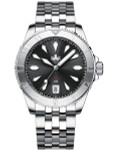 PHOIBOS Black Voyager 2.0 Automatic Dive Watch with Double Dome AR Sapphire Crystal #PY026C
