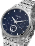Citizen Eco-Drive Calendar Watch with Pointer Date, Sapphire Crystal #AP1050-56L