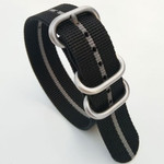 3-Ring Nylon Tactical Field Strap with Matte Finish Steel Buckle #TFS-22-SS