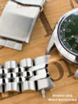"""Strapcode 20mm ANGUS-J """"Louis"""" 316L Stainless Steel Watch Bracelet for Seiko Alpinist SARB017, V-Clasp #SS201820B064"""