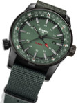 Traser P68 Pathfinder GMT Swiss Quartz Watch with Compass, AR Sapphire Crystal #109035