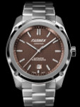Formex Essence Swiss Automatic Chronometer with Brown Dial #0330.1.6351.100