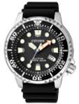 Citizen Eco-Drive Promaster Scuba Diver Watch with Rubber Dive Strap #BN0150-10E