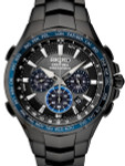 Seiko Coutura Radio Sync, Solar Powered, Chronograph, World Time Watch with Sapphire Crystal #SSG021