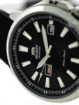 Orient 42mm Stingray Day and Date Automatic Watch with Black Dial #EM7K00AB