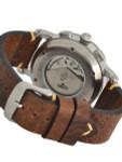 Aristo Swiss Valjoux 7750 Automatic Chronograph Aviator Watch #7H186