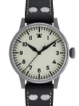 Laco Venedig Pilot watch, Swiss Automatic, Type-A Luminous Dial #861894
