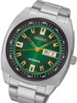 Seiko Recraft Series Automatic Watch with 43.5mm Case, Stainless Steel Bracelet #SNKM97