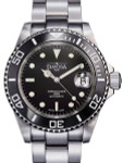Davosa Ternos Swiss Automatic 200 Meter Dive Watch with Black Dial #16155550