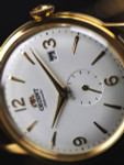 Orient Small Seconds Automatic Dress Watch with White Dial #RA-AP0004S10A