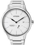 Citizen Automatic Titanium Watch with Titanium Bracelet and White Dial #NJ0090-81A