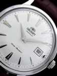 Orient 2nd Generation Automatic Watch with Silvertone Case and Hour Markers #AC00005W