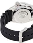 Seiko Black 21-Jewel Automatic Dive Watch with Rubber Strap #SKX013K1