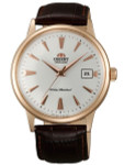 Orient 2nd Generation Automatic Watch with Rose Goldtone Case and Hour Markers #AC00002W