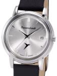 Messerschmitt Radiant Silver Dial Special Edition Quartz Dress Watch #KR200-SS