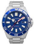Spinnaker Automatic 200 Meter Dive Watch with Stainless Steel Bracelet #SP-5074-22