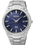 Seiko Core Series Solar Watch with 41mm Stainless Steel Case and Bracelet #SNE323